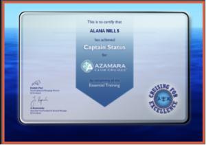 Azamara Captain