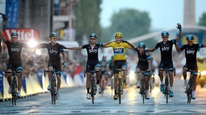 Tour de France winner Chris Froome: 'cycling is now the world's cleanest sport' -video