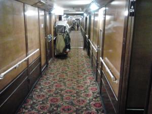 Corridor on Queen Mary
