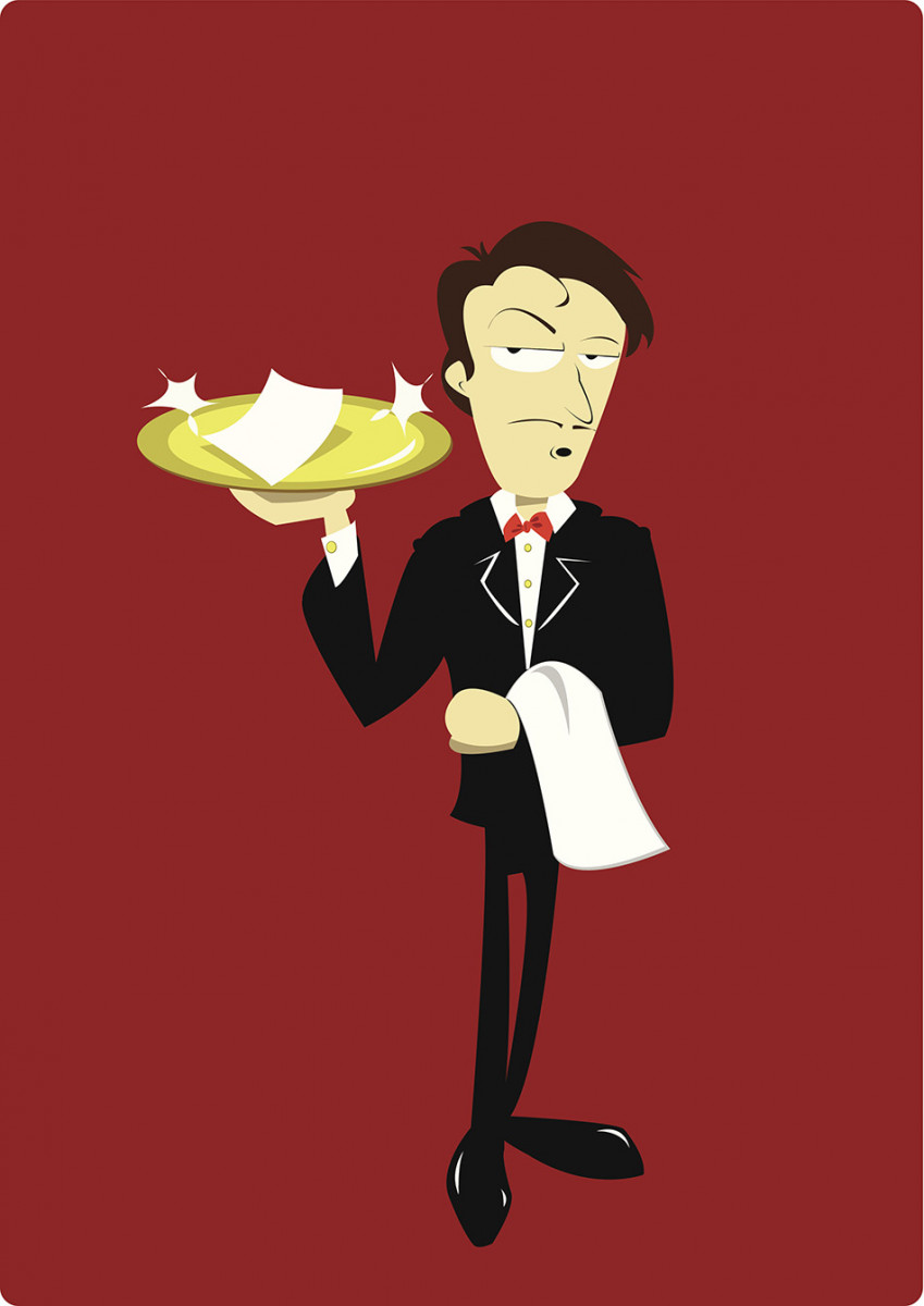 the waiter rule The waiter rule refers to a common belief that one's true character can be gleaned from how one treats staff or service workers, such as a waiter the rule was one of william h swanson's 33 unwritten rules of management, copied from dave barry's version if someone is nice to you but rude to the waiter, they are not a.
