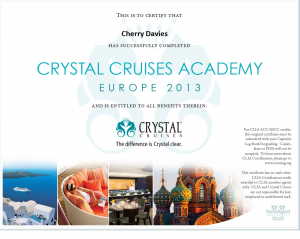 Crystal Cruises Academy