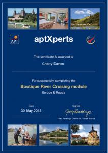 aptXperts Boutique River Cruising
