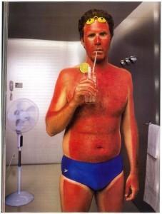Sunawareness sunburn