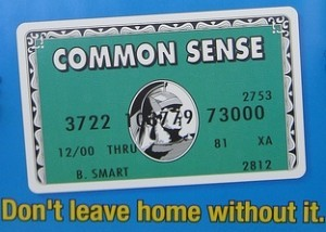 common sence