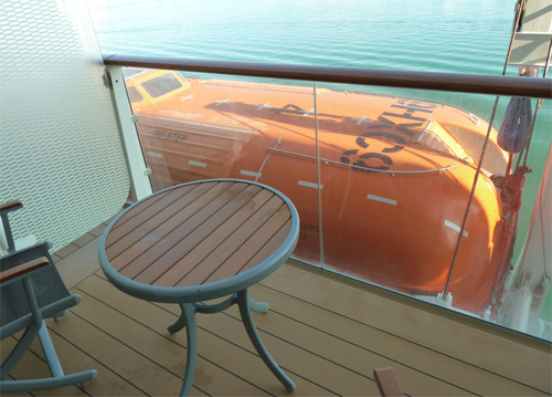 Guaranteed cabins worth the risk to save money for Balcony view on cruise
