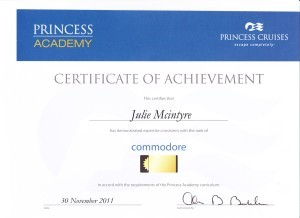 Princess Cruise - Commodore
