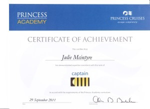 Princess Cruises - Captain