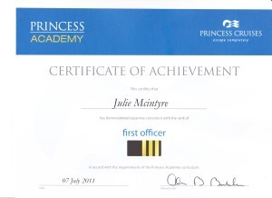 Princess Cruises - First Officer