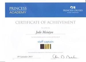 Princess Cruises - Staff Captain