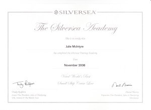 Silversea Training Academy