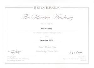 Silversea Training Academy