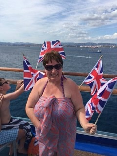 Me being very patriotic!