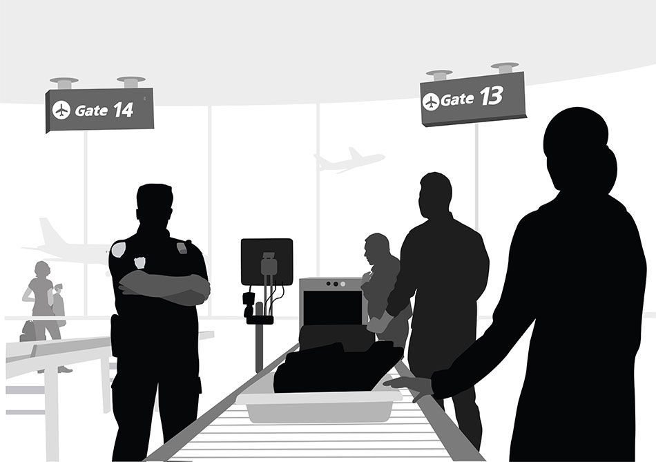 free clipart airport security - photo #31