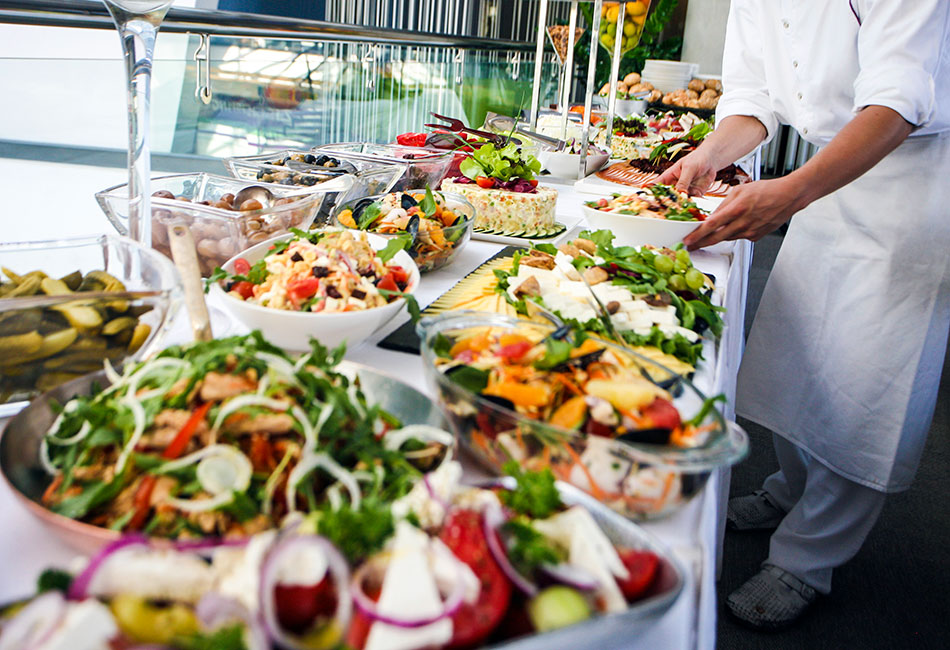 Buffet from istock