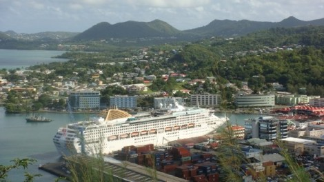 Oceania in St Lucia