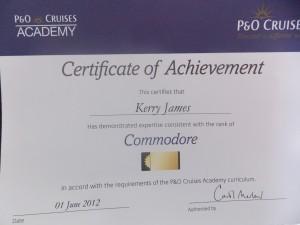Achieved 01/06/2012