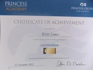 Achieved 25/11/2012