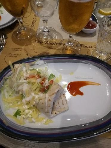 Burrito starter in the Tex Mex
