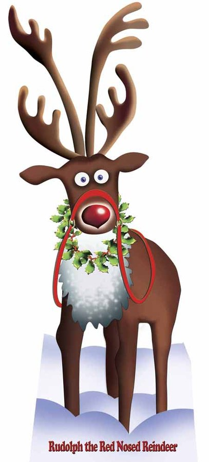 ss9100__-_lifesize_cardboard_cutout_of_rudolph_the_red_nosed_reindeer ...