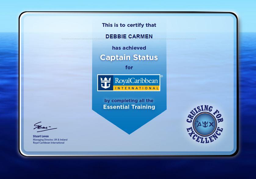 Royal caribbean Captain