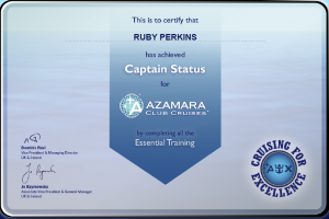 Azamara Cruises - Captain Status