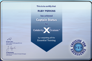 Celebrity Cruises - Captain Status