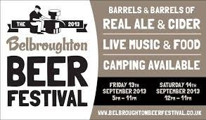 Belbroughton beer festival