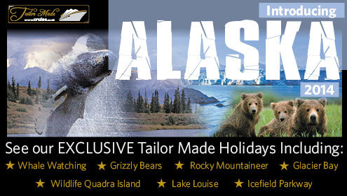 Exclusive Alaska Cruise and Stay Holidays