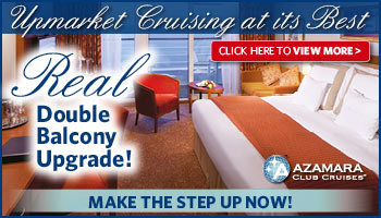 Upmarket Cruising with REAL Balcony Upgrades!