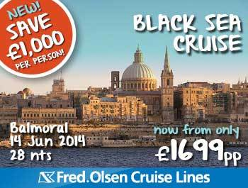 New Balmoral Black Sea Cruise