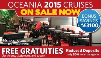 Oceania 2015 Cruises on sale now