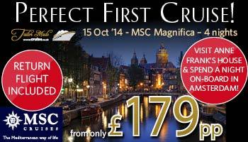 MSC Magnifica 15th Oct 14 Tailor Made Holiday