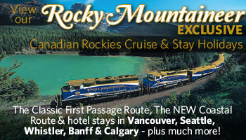 Discover Canadian Rockies with Rocky Mountaineer