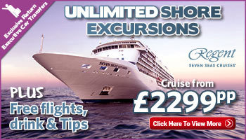 Unlimited FREE Shore Excursions with Regent