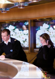 An optional TTY (Text Telephone) is linked to Guest Relations