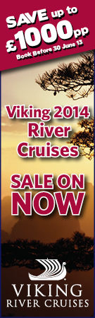 Sale Now on 2014 Viking River Cruises