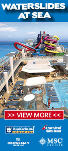 Waterslides at Sea
