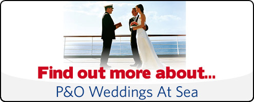 p&o weddings at sea