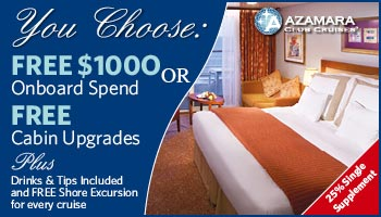 You Choose - FREE $1000 Onboard Spend or FREE Upgrades