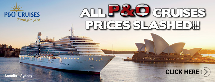 P&O prices slashed