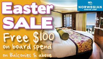 Easter Sale On board credit