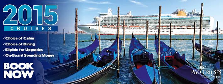 2015 Cruises P&O