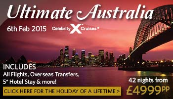 The Ultimate Australia and New Zealand Cruise & Stay Holiday