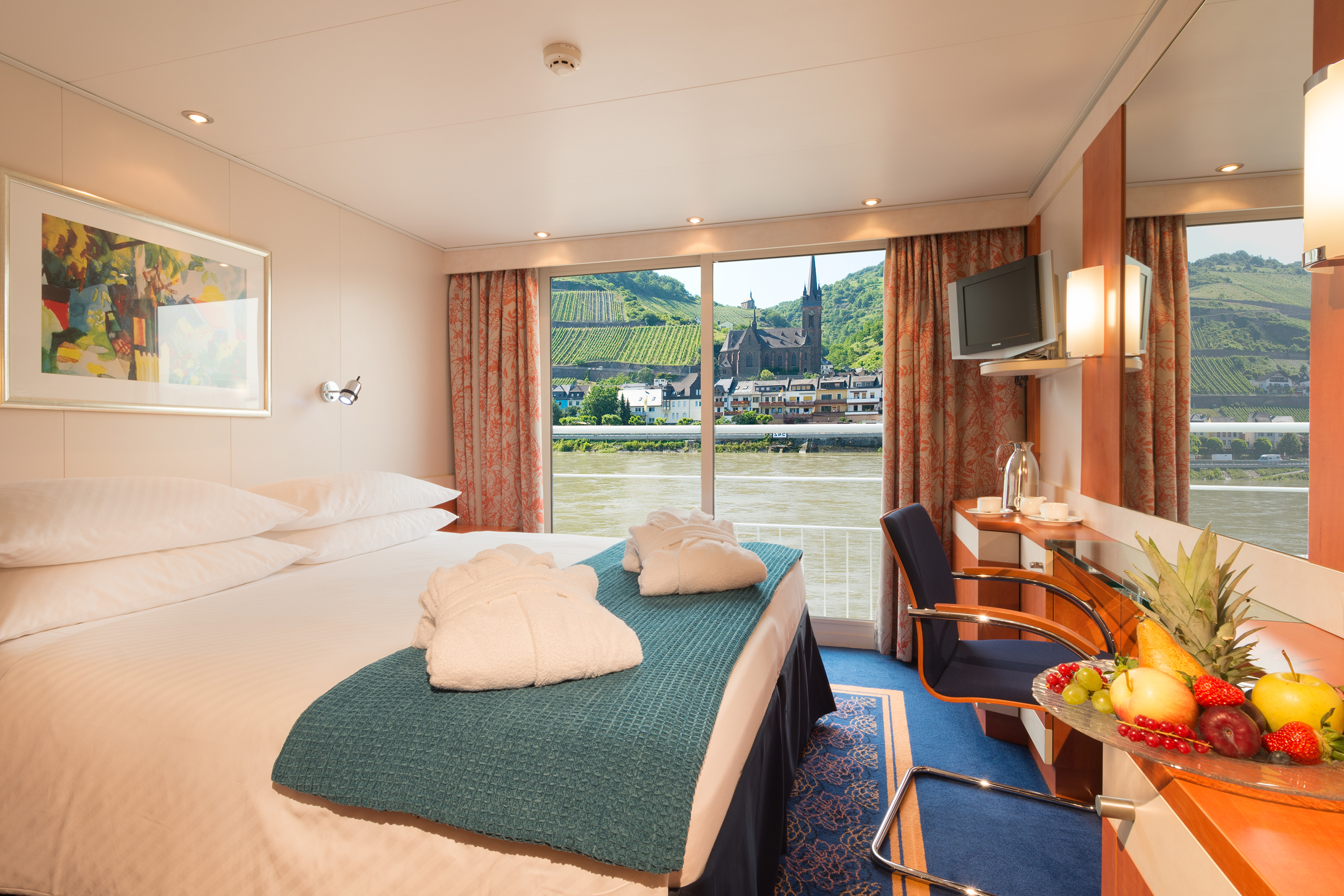 River cruises tailor made apt river for Balcony french