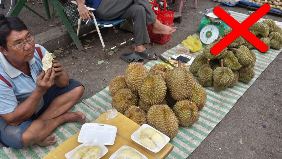 Durian - grossest foods