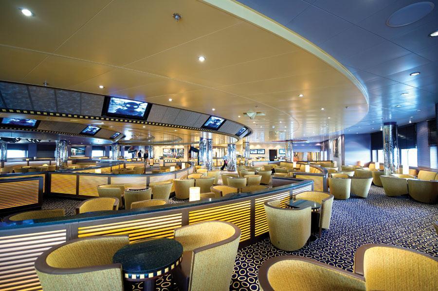 P o cruises azura bars official cruise photos for Aurora p o interior