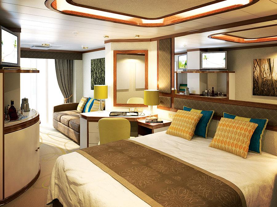 P o cruises azura staterooms official cruise photos for Deluxe balcony