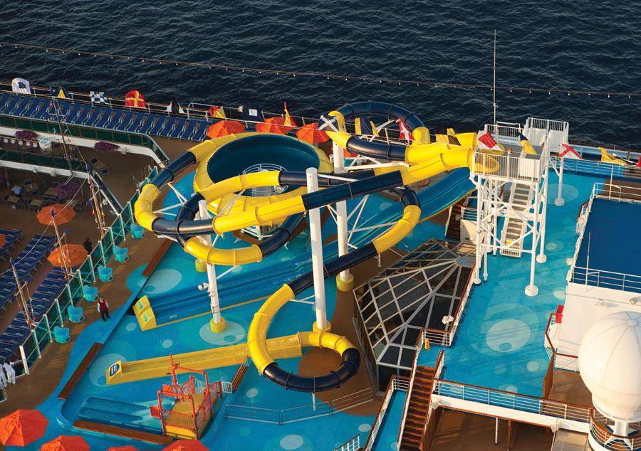 carnival cruises carnival dream pool official cruise photos