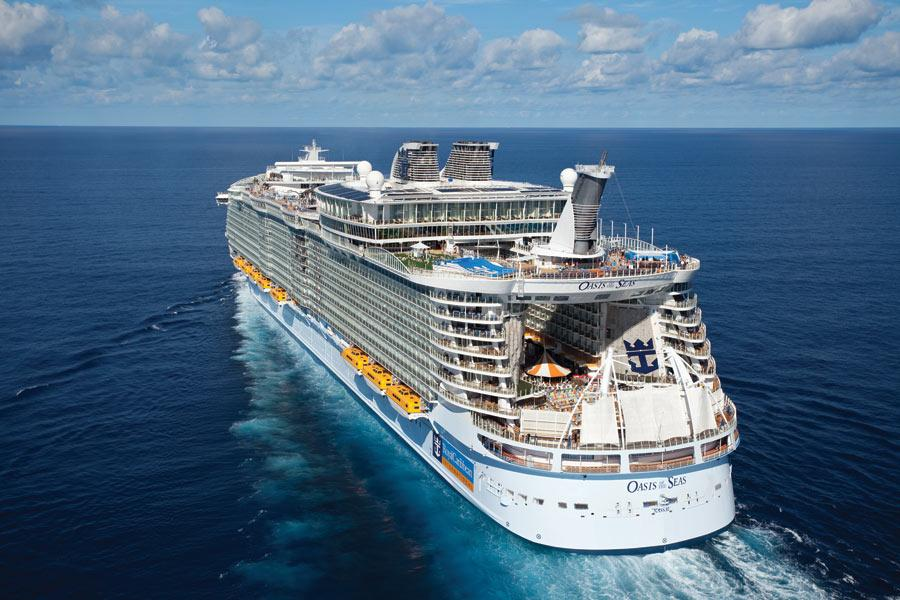 Royal Caribbean Cruises - Oasis Of The Seas Exterior-overview Official Cruise Photos