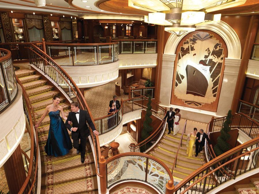 cunard cruises   queen elizabeth interior official cruise photos